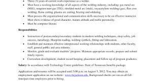 Welder Resume Resume Template Welder Fabricator Samples Pipe Objective Sample 74