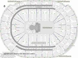 Aac Seating Chart With Seat Numbers Scottrade Center Seating Chart With Seat Numbers New Verizon