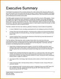 Sample Report Template For Business Executive Summary Sample Template Business
