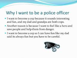 Why To Become A Police Officer Ppt The Career Of A Police Officer Powerpoint Presentation Id