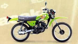 kawasaki ke100 1974 1998 review mcn kawasaki ke100 motorcycle review side view