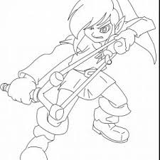 Link And Zelda Coloring Pages Archives R4dsco Save Link Coloring