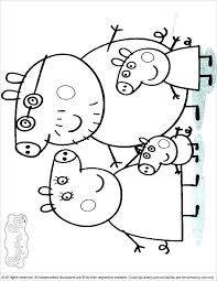 Peppa Pig Coloring Games Pig Coloring Pages To Print Pig Printable