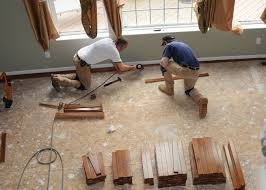 An Image Of Men Working On A Sub Floor