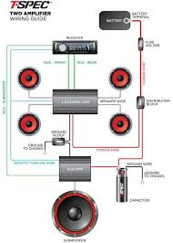 wiring guide t spec, competition Dual Stereo Wiring Diagram Dual Amp Wiring Diagram