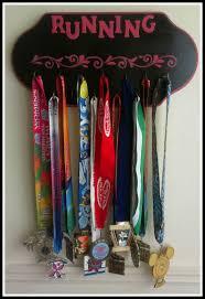 finished medal display rack