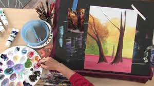 art lessons with lee hammond acrylic landscape painting