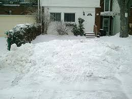 driveway finally cleared after city plow blocks with street s snow ottawa citizen