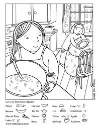 Small Picture Activity Sheets Melissa Iwai Printables Usable Pinterest