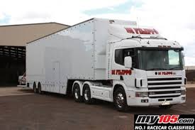 Race Car Transporter Trailer