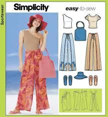 Wrap Pants Pattern Fascinating Simplicity 48 Wraparound Pants