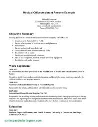 Medical Assistant Resumes Templates Stupendous Resume Samples