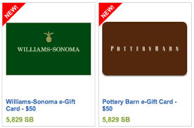 new swagbucks 50 gift cards pottery