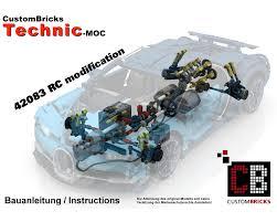 His problem was a stuck gear (krackling noises were heard). Lego Moc Custom Rc Bugatti Modification By Custombricks De Rebrickable Build With Lego
