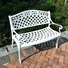 white iron garden furniture. White Cast Iron Patio Furniture Garden Metal Bench Cape Town Chairs R