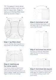 fold fitted sheet ideas inspiration for organizing and putting together a linen