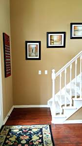 Benjamin Moore Spice Gold Walls Cherry Floors White Trim And Black Accents  A Bedroom Color Schemesbedroompopular