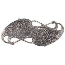 Details About Gandalf Brooch Costume Accessory Adult Lord Of The Rings Halloween
