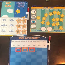 Target Kids Magnetic Chore Charts And Calendar