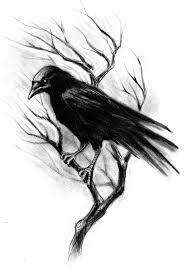 пин от пользователя Kristi на доске рисунки ворон тату ворон и