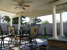 alumawood newport flat pan patio covers