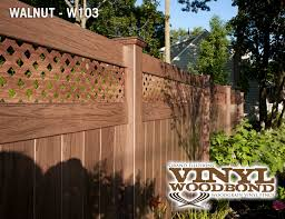 Unique Vinyl Privacy Fence Ideas Illusions Fencing Intended Design