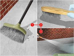 painting a cement floorHow to Paint Concrete 10 Steps with Pictures  wikiHow