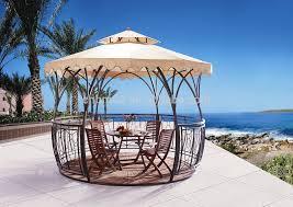 garden gazebo. New Design Rattan Garden Gazebo To Saudie Arabia