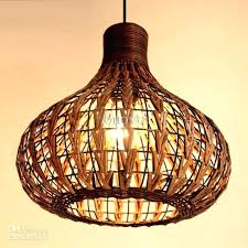 handmade lighting fixtures. Handmade Light Fixtures Rattan Ceiling Pendant Lamp Lighting W