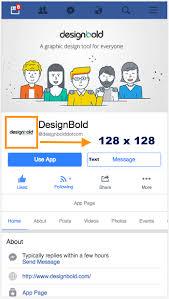 facebook profile image size and design