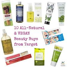 target1 calling all natural beauty bunnies did you know there s a slew of free vegan friendly and