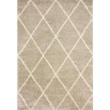 nuloom diamond beige 8 ft x 10 ft area rug