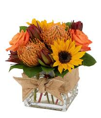 Thanksgiving sunflower bouquet ...