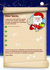 free letter templates to father valid free santa letters send a letter to santa with our template