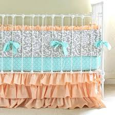 peach and gray bedding gallery for peach and gray bedding peach and gray nursery bedding