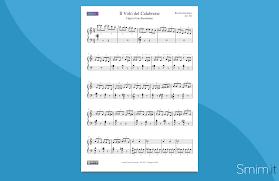Il Volo del Calabrone (spartito per pianoforte)