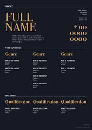 Free Elegant Resume Template For Designers Marketing Hr I T