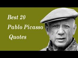 Pablo Picasso Quotes Gorgeous Best 48 Pablo Picasso Quotes The Spanish Painter YouTube