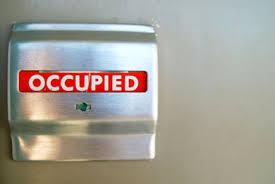 occupied bathroom sign. Occupied Bathroom Sign