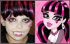 makeup ideas draculaura makeup draculaura monster high makeup tutorial day 21 you