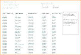 Checklist Sheet Template X Computer Hardware Inventory Template Checklist It