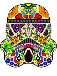 Star Wars - Day of the Dead Stormtrooper By Gary Chapman | Star wars  painting, Star wars art, Star wars tattoo