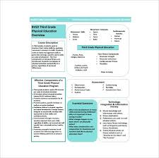 Physical Education Lesson Plans For Primary School Physical ...