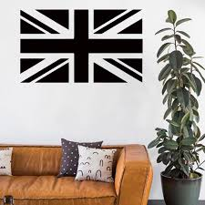 marvel wall stickers vinyl home decoration british flag wall sticker removable waterproof pvc house decor wall decals in bar or large wall