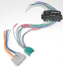 scosche cfdk6 wiring interface allows you to connect a new car stereo and retain the factory amp in select 1995 up ford lincoln mercury mazda