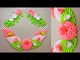 simple home decor 28 wall door decoration hanging flower paper craft ideas 30