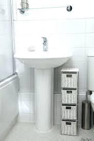 pedastal sink storage under pedestal sink organizer pedestal sink storage cabinet pedestal sink storage cabinet home