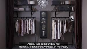 Ikea Offener Kleiderschrank F R Modefans Youtube
