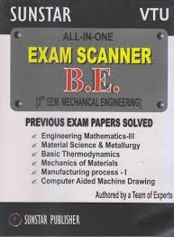 All In One Exam Scanner B.E 3rd Sem Mechanical Engineering - Trendy ...