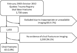 Circulation Chart For Fracture Clival Fractures In A Level I Trauma Center In Journal Of